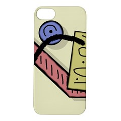 Decorative Abstraction Apple Iphone 5s/ Se Hardshell Case by Valentinaart