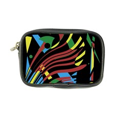 Colorful Decorative Abstrat Design Coin Purse by Valentinaart