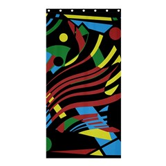 Colorful Decorative Abstrat Design Shower Curtain 36  X 72  (stall)  by Valentinaart