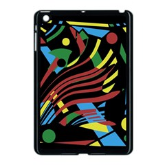 Colorful Decorative Abstrat Design Apple Ipad Mini Case (black) by Valentinaart