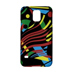 Colorful Decorative Abstrat Design Samsung Galaxy S5 Hardshell Case