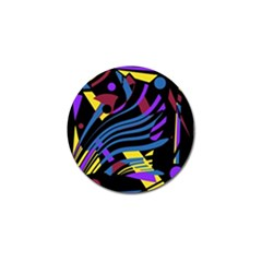 Decorative Abstract Design Golf Ball Marker by Valentinaart