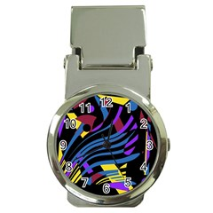 Decorative Abstract Design Money Clip Watches by Valentinaart
