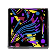Decorative Abstract Design Memory Card Reader (square)
