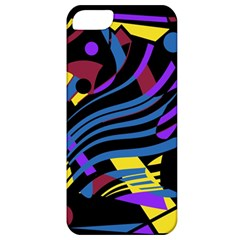 Decorative Abstract Design Apple Iphone 5 Classic Hardshell Case by Valentinaart