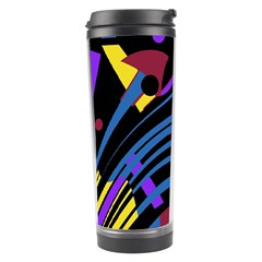 Decorative Abstract Design Travel Tumbler by Valentinaart