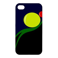 Falling Boalls Apple Iphone 4/4s Premium Hardshell Case by Valentinaart