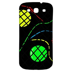 Colorful Design Samsung Galaxy S3 S Iii Classic Hardshell Back Case by Valentinaart