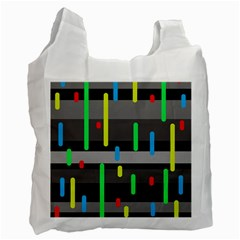 Colorful Pattern Recycle Bag (one Side) by Valentinaart