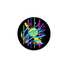 Colorful Abstract Art Golf Ball Marker (10 Pack) by Valentinaart