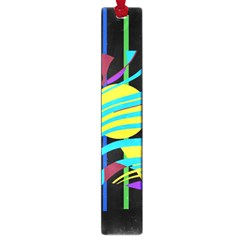 Colorful Abstract Art Large Book Marks by Valentinaart