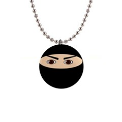 Ninja Button Necklaces by Valentinaart