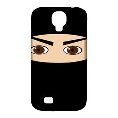 Ninja Samsung Galaxy S4 Classic Hardshell Case (pc+silicone) by Valentinaart