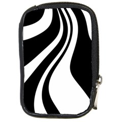 Black And White Pattern Compact Camera Cases by Valentinaart