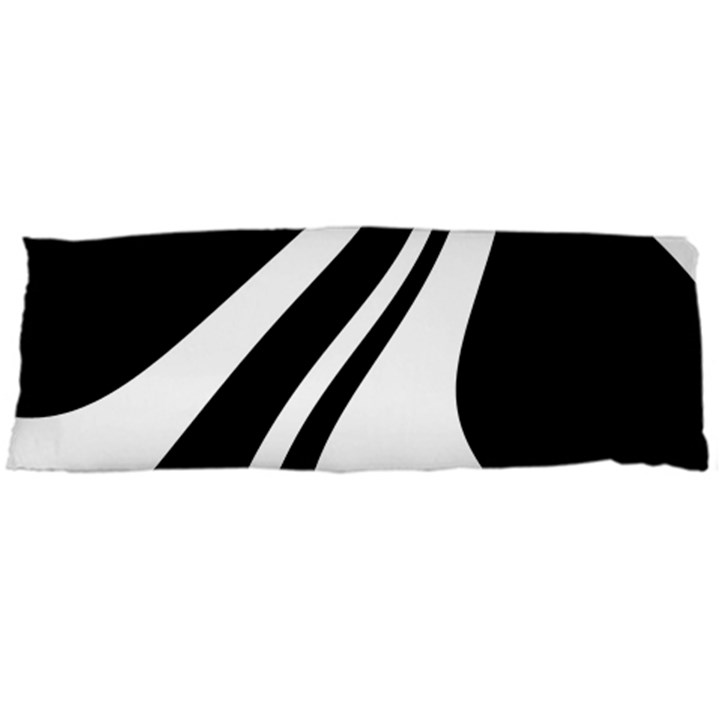 Black and white pattern Body Pillow Case (Dakimakura)