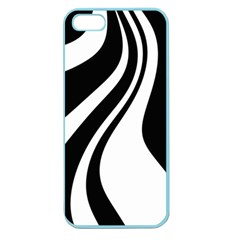 Black And White Pattern Apple Seamless Iphone 5 Case (color) by Valentinaart