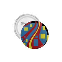 Colorful Abstrac Art 1 75  Buttons by Valentinaart