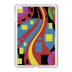 Colorful Abstrac Art Apple Ipad Mini Case (white) by Valentinaart