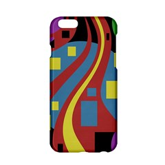 Colorful Abstrac Art Apple Iphone 6/6s Hardshell Case by Valentinaart
