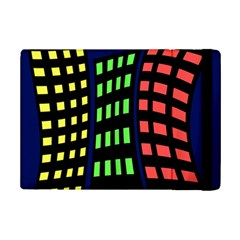 Colorful Abstract City Landscape Ipad Mini 2 Flip Cases by Valentinaart