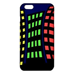 Colorful Abstract City Landscape Iphone 6 Plus/6s Plus Tpu Case by Valentinaart
