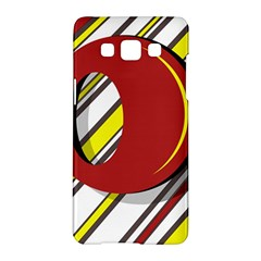 Red And Yellow Design Samsung Galaxy A5 Hardshell Case  by Valentinaart