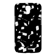 Black And White Pattern Samsung Galaxy Mega 6 3  I9200 Hardshell Case by Valentinaart