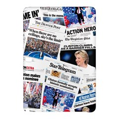 Hillary 2016 Historic Newspaper Collage Samsung Galaxy Tab Pro 12 2 Hardshell Case by blueamerica