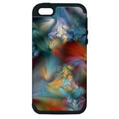 More Evidence Of Angels Apple Iphone 5 Hardshell Case (pc+silicone) by WolfepawFractals