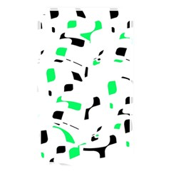 Green, Black And White Pattern Memory Card Reader by Valentinaart