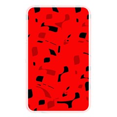 Red And Black Pattern Memory Card Reader by Valentinaart