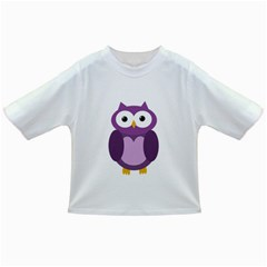 Purple Transparetn Owl Infant/toddler T Shirts by Valentinaart