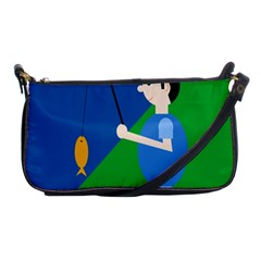 Fisherman Shoulder Clutch Bags by Valentinaart