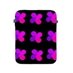 Purple Flowers Apple Ipad 2/3/4 Protective Soft Cases by Valentinaart