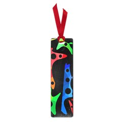 Colorful Abstract Pattern Small Book Marks by Valentinaart