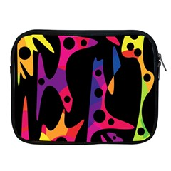 Colorful Pattern Apple Ipad 2/3/4 Zipper Cases by Valentinaart