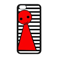 Red Pawn Apple Iphone 5c Seamless Case (black) by Valentinaart