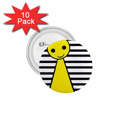 Yellow Pawn 1 75  Buttons (10 Pack) by Valentinaart