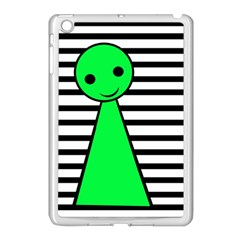 Green Pawn Apple Ipad Mini Case (white) by Valentinaart