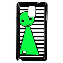 Green Pawn Samsung Galaxy Note 4 Case (black) by Valentinaart