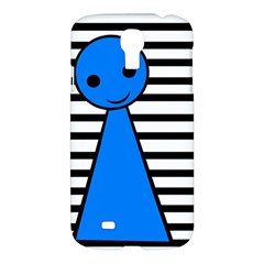 Blue Pawn Samsung Galaxy S4 I9500/i9505 Hardshell Case by Valentinaart