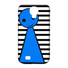 Blue Pawn Samsung Galaxy S4 Classic Hardshell Case (pc+silicone) by Valentinaart