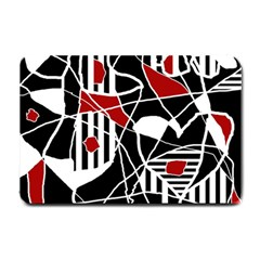 Artistic Abstraction Small Doormat  by Valentinaart