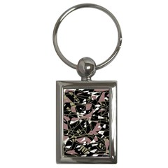 Artistic Abstract Pattern Key Chains (rectangle)