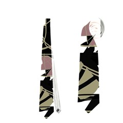 Artistic Abstract Pattern Neckties (one Side)  by Valentinaart