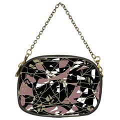 Artistic Abstract Pattern Chain Purses (one Side)  by Valentinaart