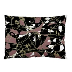Artistic Abstract Pattern Pillow Case by Valentinaart