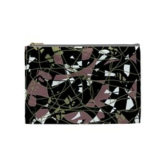 Artistic Abstract Pattern Cosmetic Bag (medium)  by Valentinaart