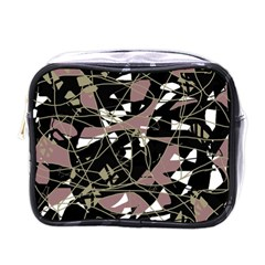 Artistic Abstract Pattern Mini Toiletries Bags by Valentinaart