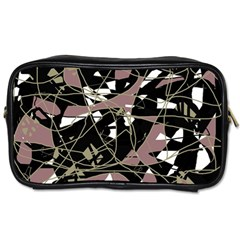 Artistic Abstract Pattern Toiletries Bags by Valentinaart